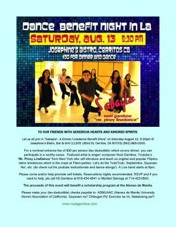 LA fundraiserAug13